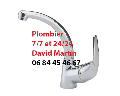 plombier Bron installation remplacement robinet